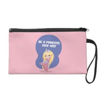 Be a princess, kick ass! - Bagettes Bag