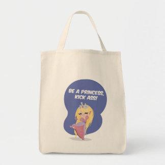 Be a princess, kick ass! - Shopping Bag