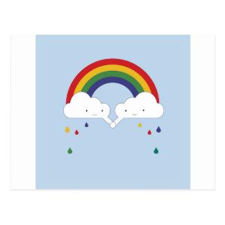 Be a Rainbow Postcard