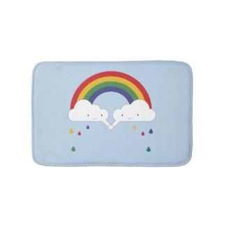 Be a Rainbow Bath Mats