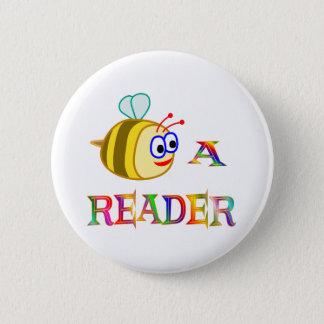 Be a Reader Pinback Button