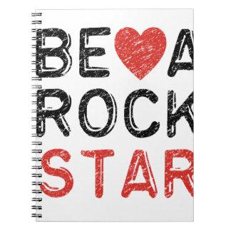 Be a rock star notebook