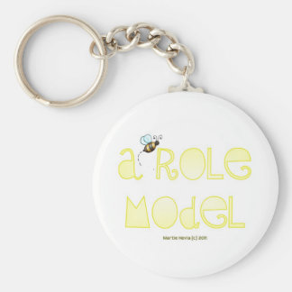 Be A Role Model - A Positive Word Keychain
