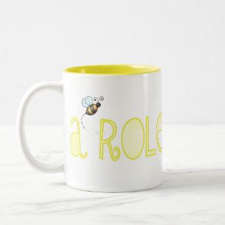 Be A Role Model - A Positive Word Two-Tone Coffee Mug