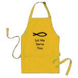 Be a servant adult apron