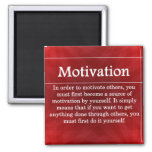 Be a Source of Motivation for Others 2 Inch Square Magnet