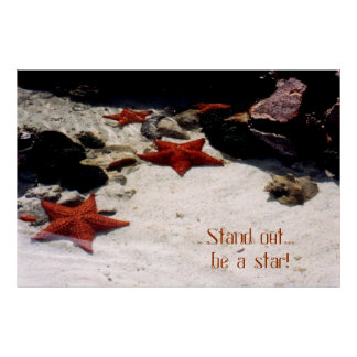 Be a star by tdgallery print