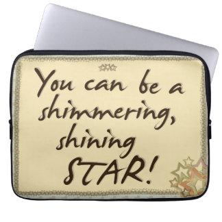 Be A Star Laptop Sleeve