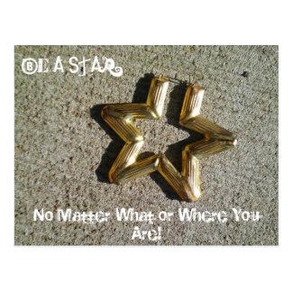 Be A Star... Postcard