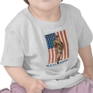 """Be a U.S. Marine!"" circa 1918 T Shirt"