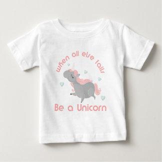 Be a Unicorn Baby T-Shirt