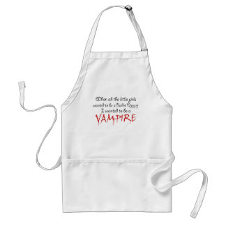 Be a Vampire Adult Apron