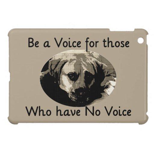 Be A Voice iPad Mini Covers