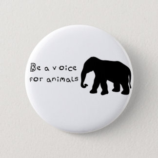 Be A Voice Pinback Button