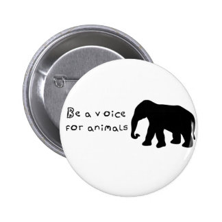 Be A Voice Pinback Button