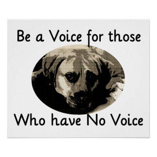 Be a Voice Poster