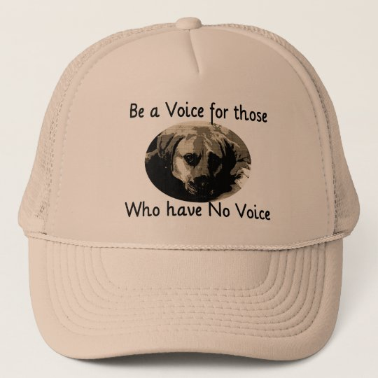 Be a Voice Trucker Hat