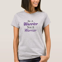 Be a Warrior Fibromyalgia Two-Sided Tshirt