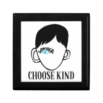 Be a wonder - Choose Kind - Kindness Shirt Jewelry Box
