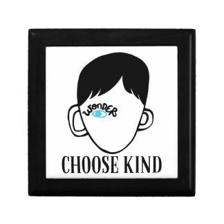 Be a wonder - Choose Kind - Kindness Shirt Jewelry Box