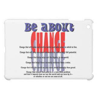 Be About Change Speck Case Cover For The iPad Mini