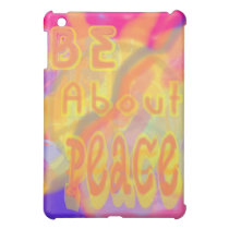 Be About Peace iPad Case