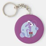 Be Afraid Basic Round Button Keychain