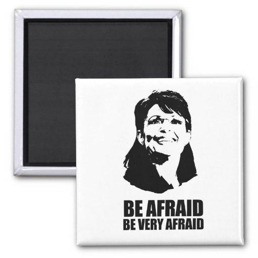 Be Very Afraid: Be Afraid Be Very Afraid 2 Inch Square Magnet