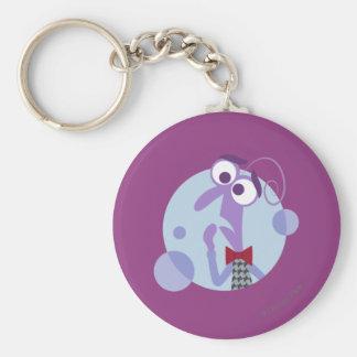 Be Afraid Keychain