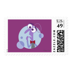Be Afraid Postage Stamp