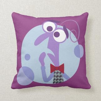 Be Afraid Throw Pillow