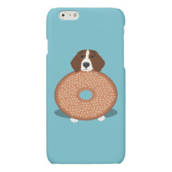 Case Savvy iPhone 6 Glossy Finish Case with Beagle Phone Cases design