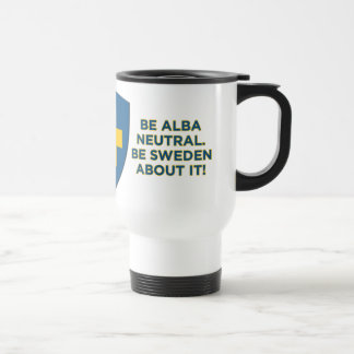 Be Alba Neutral-Be Sweden About It Commuter Mug
