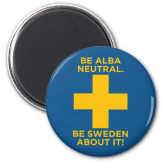 Be Alba Neutral-Be Sweden About It Magnet