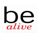 Be Alive Postcards