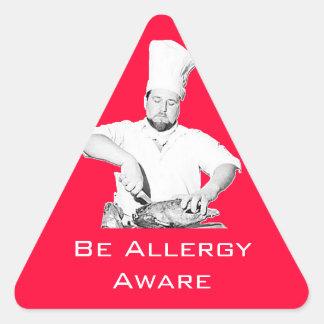 Be Allergy Aware Sticker