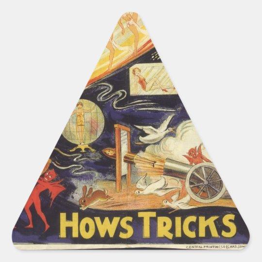 Be Amazed! Triangle Sticker