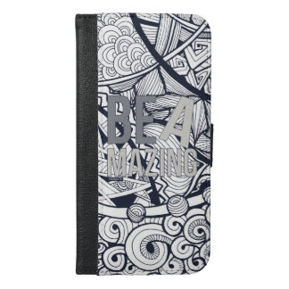 Be Amazing phone wallet case