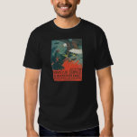 """Be an American Eagle"" RESTORED Army Air Poster T Shirt"