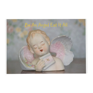 Be An Angel Eat It All Place Mat