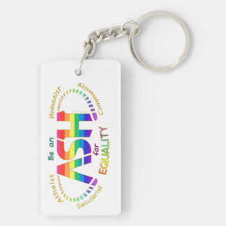 Be an ASH for Equality Keychain