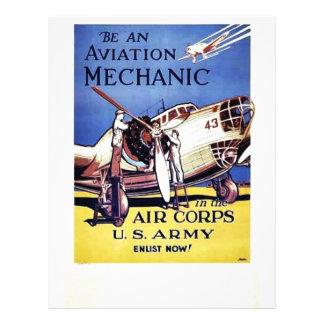 Be An Aviation Mechanic Flyer