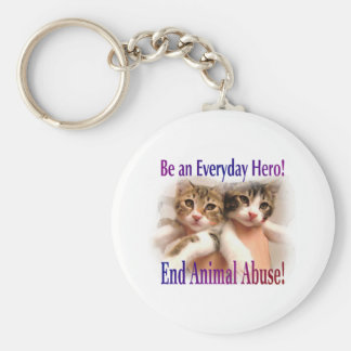 Be an Everyday Hero Basic Round Button Keychain