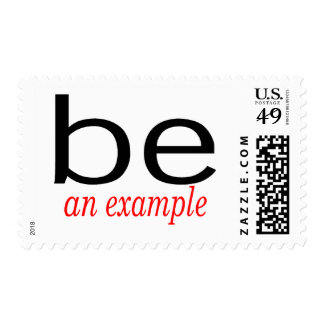 Be An Example Postage