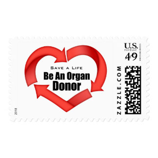 Be An Organ Donor Postage