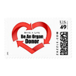 Be An Organ Donor Postage Stamps