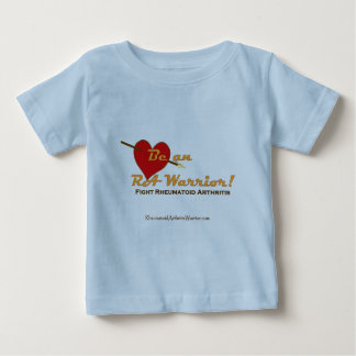 Be an RA Warrior - heart Baby T-Shirt