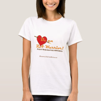Be an RA Warrior - heart T-Shirt