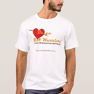 Be an RA Warrior with heart T-Shirt
