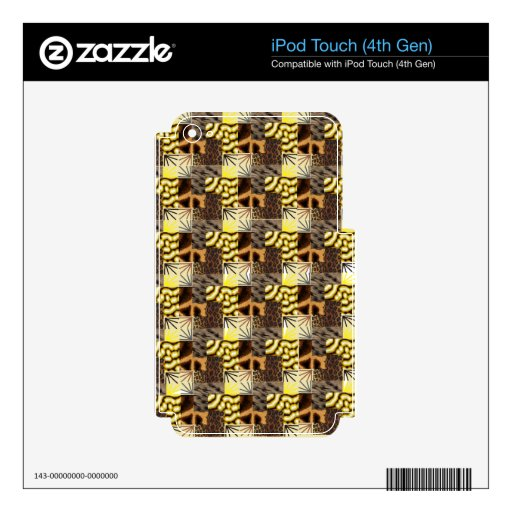 Be animal iPod touch 4G skins